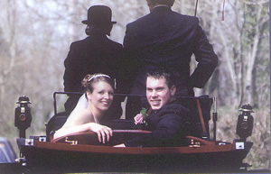 Wedding carriage hire