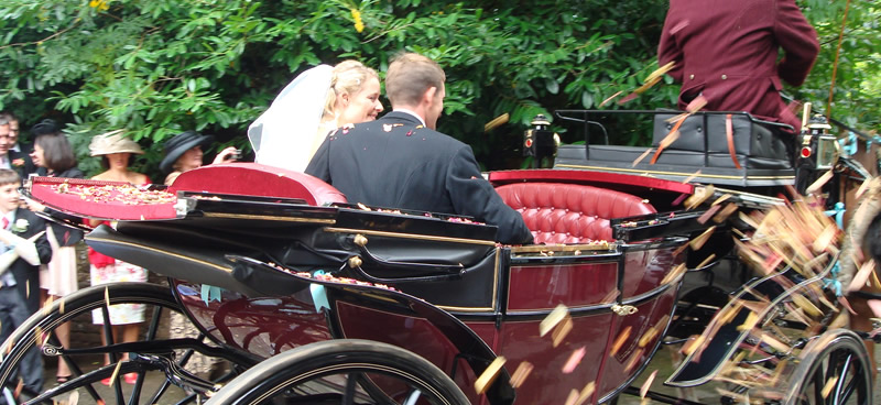 Horse and Carriage Wedding Hire